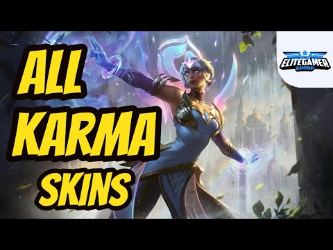 All Karma Skins Spotlight League of Legends Skin Review