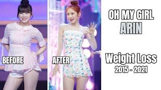 Oh My Girl - Arin's Gradual Weight Loss
