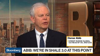 Shale 3.0 May Lead to Oil Consolidation, Credit Suisse's Abib Says