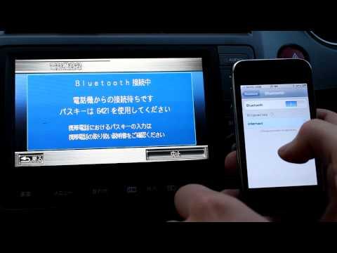 Подключение Bluetooth на Honda Stream RN6 Internavi