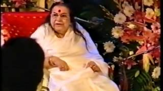 Jogwa Union Divine Power Love (Sahaja Yoga) Shri Mataji Royal Albert Hall 2001 (after Realization)