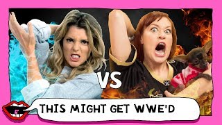 LOSING OUR MINDS AT WRESTLEMANIA with Grace Helbig & Mamrie Hart
