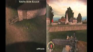 Split Screen: Brothers in Arms Earned in Blood