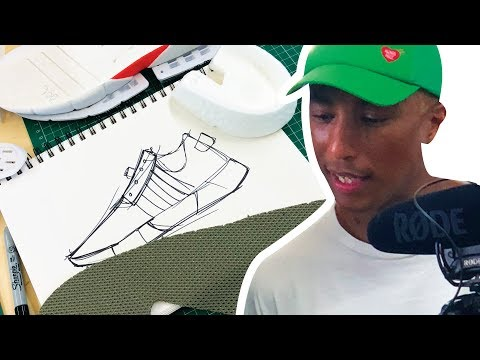 DESIGNING MY OWN SHOE AND MEETING PHARRELL