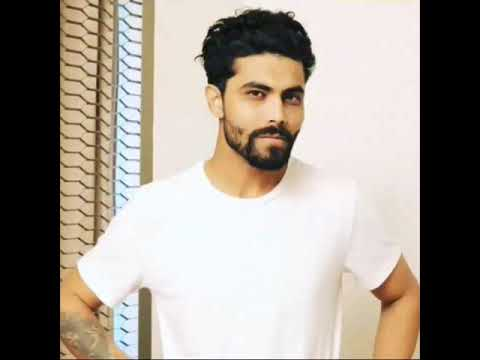 Ravindra jadeja new moustache and hairstyle in 2018 - YouTube