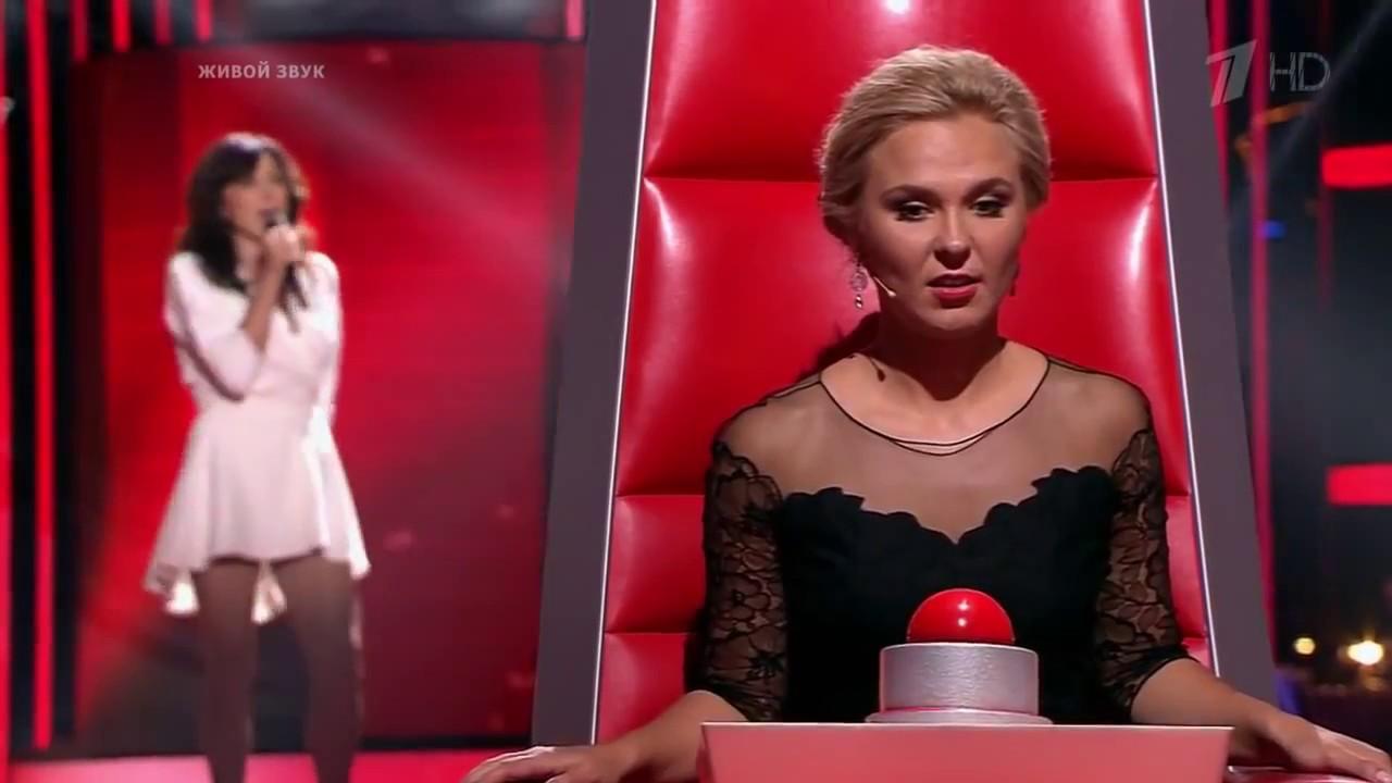 Голос 2 Сезон Анна Александрова - 'When a man loves a ... Анна Александрова Голос