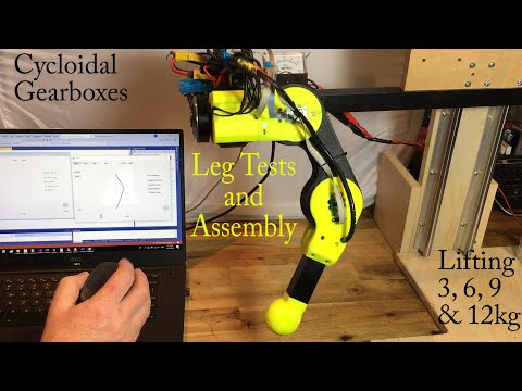 3D Printed Quadruped Robot Steps 2-20