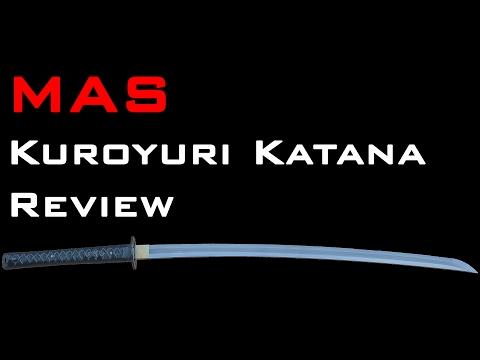 MAS L6 Kuroyuri Katana Review