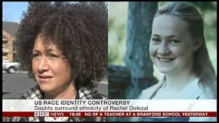Rachel Dolezal pretending to be Black - Family says she