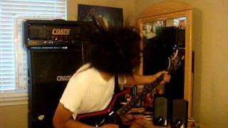 """THE HELLION""-WASP cover with improve solo HEADBANG EDITION!"