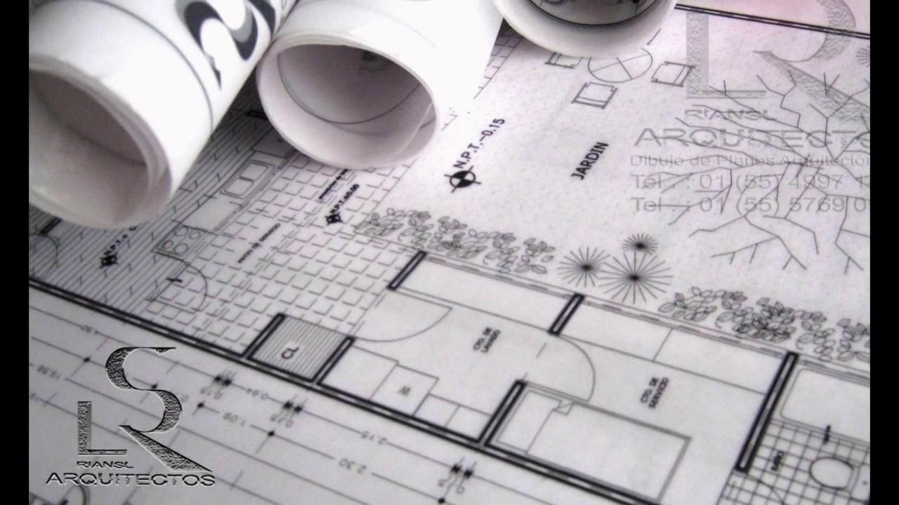 Dibujo de planos arquitect nicos en autocad youtube for Dibujos de muebles para planos arquitectonicos