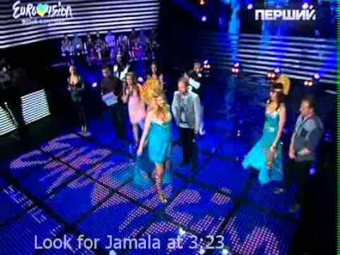 Джамала в финале отбора на Евровидение-2011. Баллы жюри.