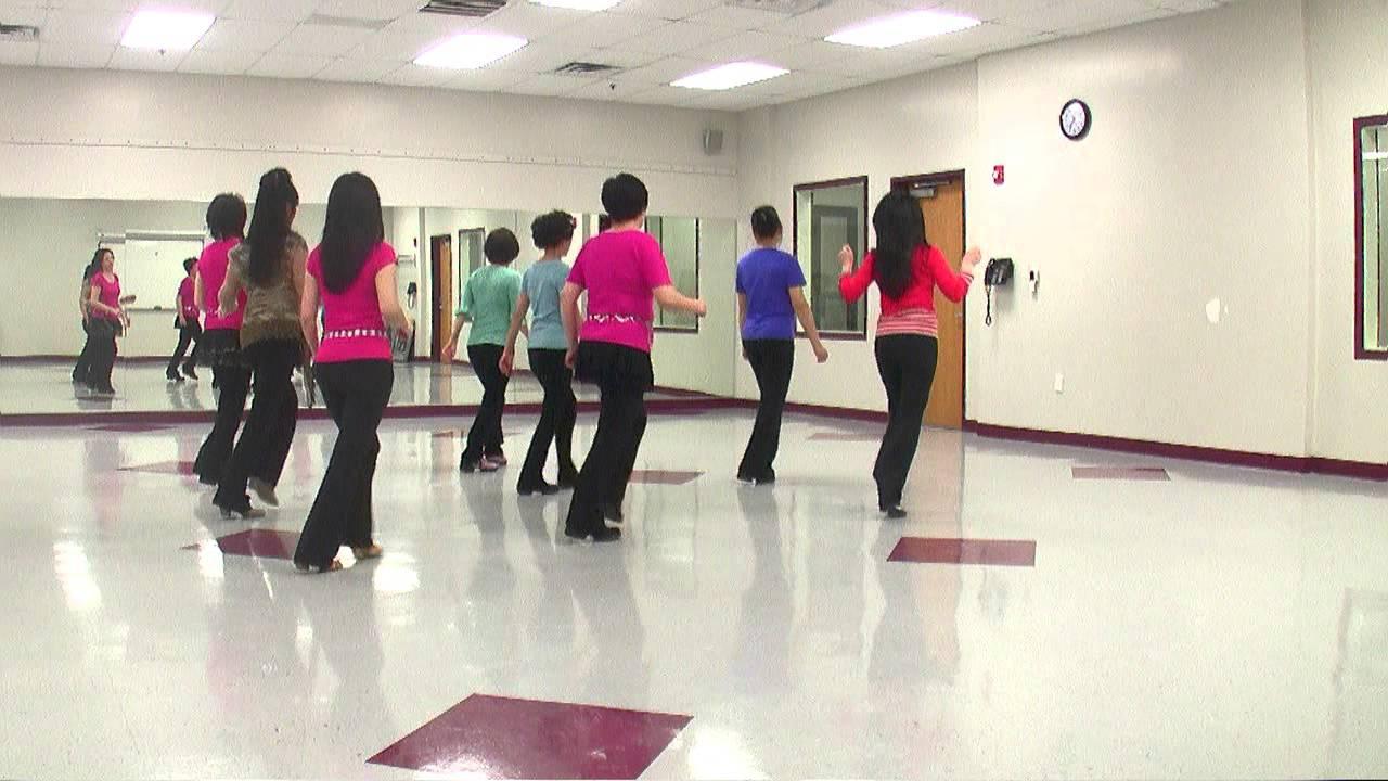 All Over Again - Line Dance (Dance & Teach in English & 中文) - YouTube