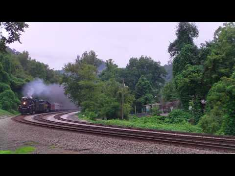 Chasing the Nickel Plate Road 765 on the NS Pocahontas District