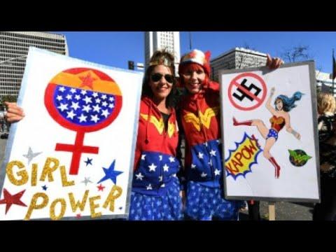 مظاهرات معادية لترامب ومدافعة عن حقوق النساء في لاس فيغاس ومدن أوروبية  - نشر قبل 16 ساعة