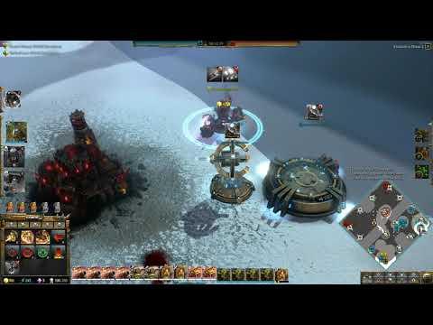 Dawn of War 3 Faction War 2v2 Kult of Speed Orc vs Mymeara Eldar