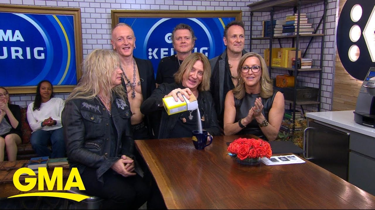 Catching up with Def Leppard live on 'GMA'