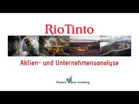 RioTinto - Unternehmens- & Aktienanalyse - Modern Value Investing