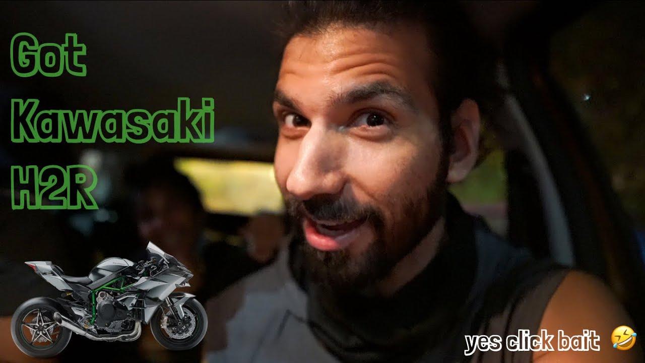 Got Kawasaki H2R 😅