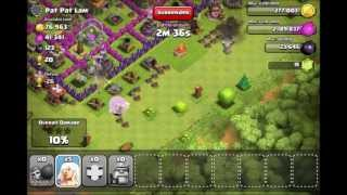 Clash of Clans - Epic All Healer Raid + The Barb King