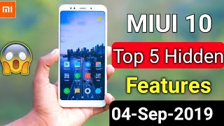 Redmi Mobile Top 5 Most Advance Secret Features| Mi Mobile Feature | miui top 5 most hidden features