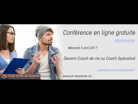 webinaire devenir coach de vie ou coach sp cialis youtube. Black Bedroom Furniture Sets. Home Design Ideas