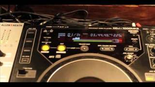 Pioneer CDJ-850 vs CDJ-1000 audio cdr waveform display comparison