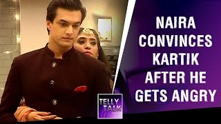 Naira convinces Kartik after he gets angry at Samarth & Gayu's Mehendi | Yeh Rishta Kya Kehlata Hai