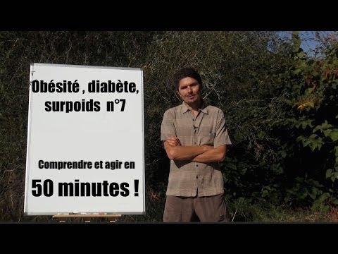 Soigner définitivement le diabète en 50 min - Obésité, comprendre et agir n°7 - www.regenere.org