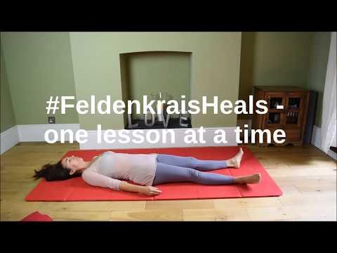 Feldenkrais lesson #1 to improve mobility in the torso and pelvis