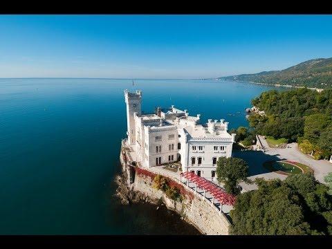 Italia da amare: Il castello di Miramare a Trieste e la tragica storia degli Asburgo.