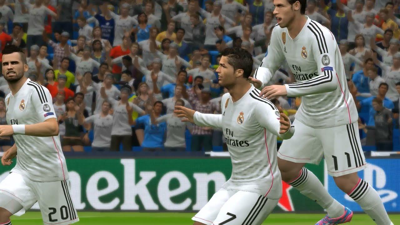 9470cd172 PES 2015 UEFA Champions League (Real Madrid vs Atletico Madrid Gameplay) -  YouTube
