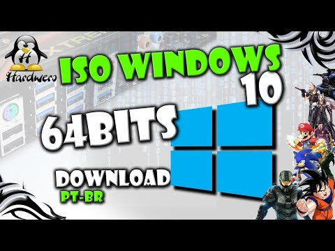 ISO Windows 10 64 Bits Atualizada - Torrent