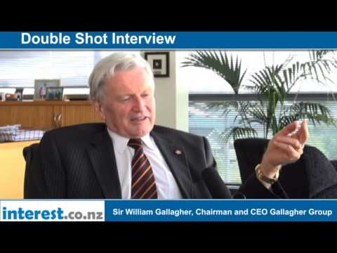Double Shot Interview with Sir William Gallagher