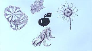 Уроки рисования. Графика и фактура. Часть 2. Учимся рисовать
