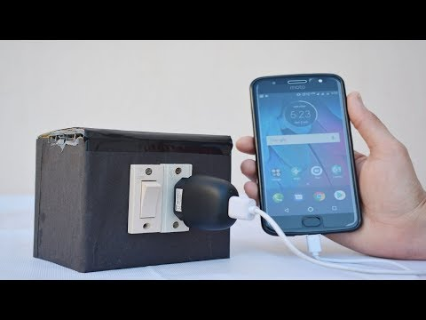 How to Make 230 volt Power Bank at Home |  Build Wall Outlet |  Made a 3.7v to 220v Ac Inverter DIY