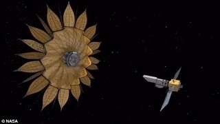 Could flower power spot alien life? Nasa reveals giant space sunflower that could allow exoplanets