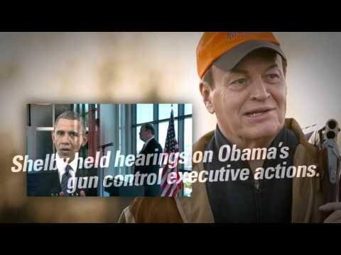 2016 Richard Shelby Campaign Ad - Gun Control