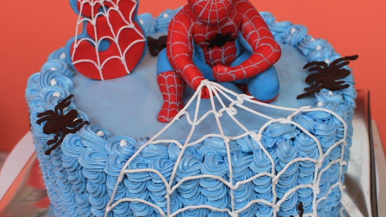 Торт человек паук своими руками фото 882