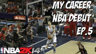 Nba 2k14 my career athletic pg gameplay ep.5 - trade? | first game | miami heat vs 76ers