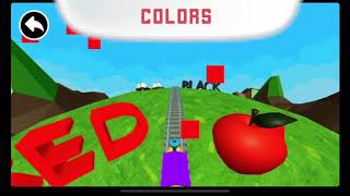 Learn colors video for kids. Train learning colors. Trains cartoon.