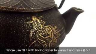 HOW TO CARE FOR CAST IRON TEA POTS