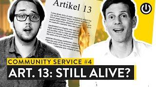 Artikel 13 abgelehnt: Ist das Internet jetzt gerettet?| Community Service