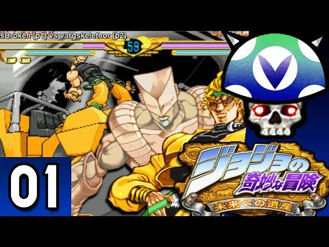 [Vinesauce] Joel - JoJo's Bizarre Adventure: Heritage for the Future ( Part 1 )