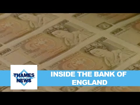 Rushes - Inside the Bank of England and printing works