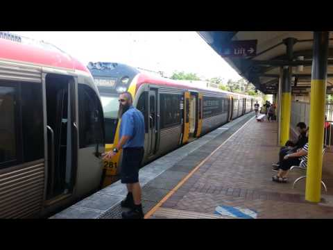 Gold Coast - Nerang train station, 10 May 2016