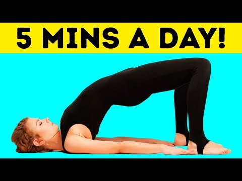 5-Minute Workout to Get a Flat Stomach in Just 30 Days