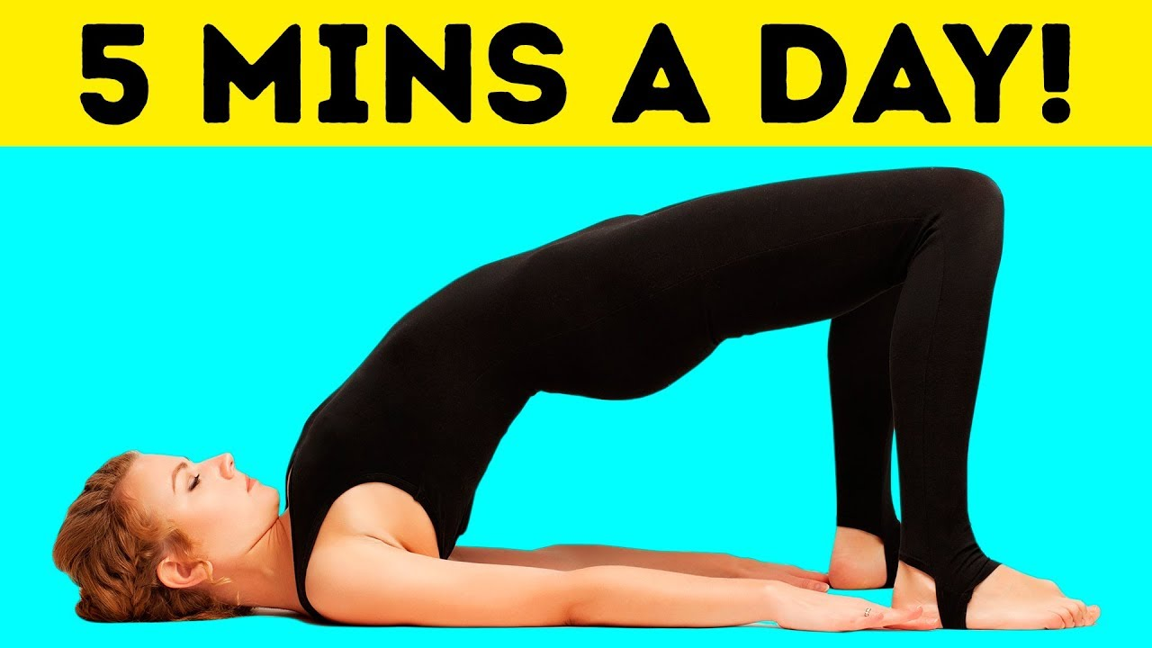 0b913a5ecba 5-Minute Workout to Get a Flat Stomach in Just 30 Days - YouTube