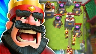 this is impossible   how do you stop this in clash royale