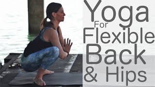 Video Yoga for Flexibility: Upper Back and Hips With Fightmaster Yoga download MP3, 3GP, MP4, WEBM, AVI, FLV Maret 2018